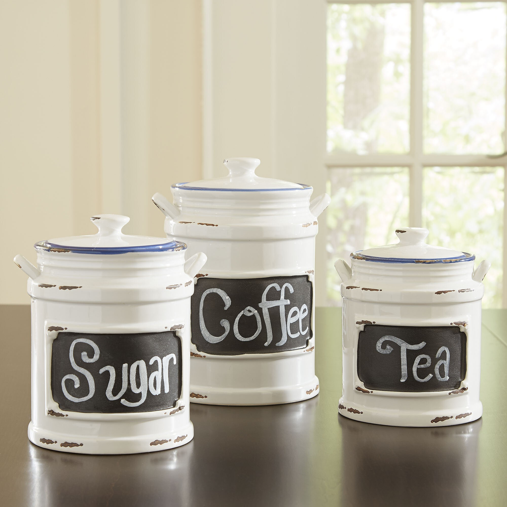 Incroyable Caswell Canisters (Set Of 3)