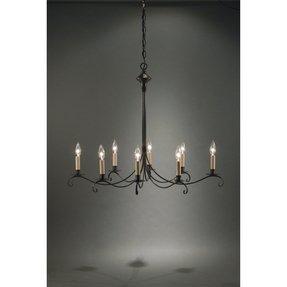 Outdoor hanging chandelier foter chandelier 8 light candelabra sockets curved arms hanging chandelier aloadofball Images