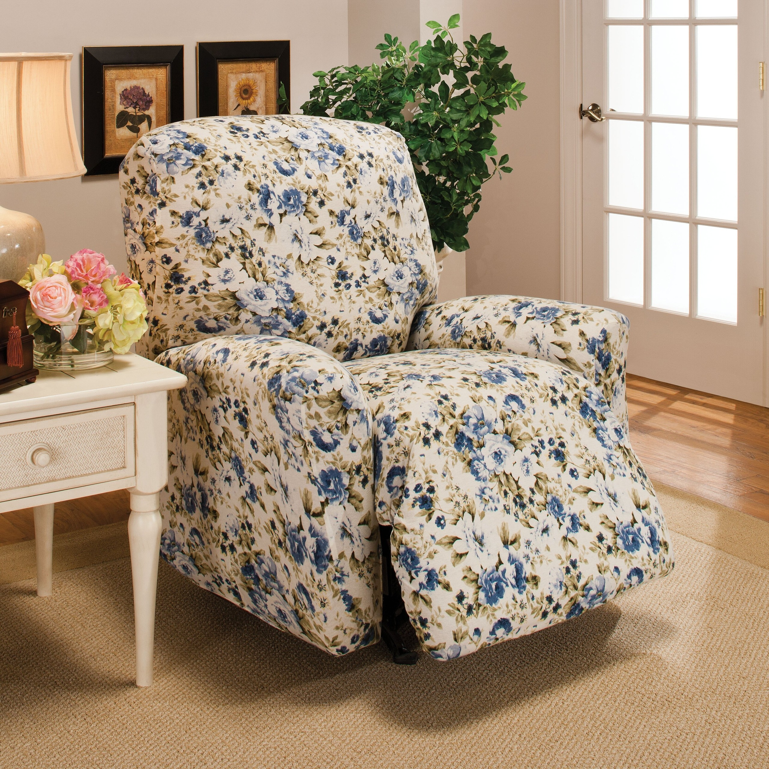 Chatham Stretch Jersey Large Recliner Slipcover