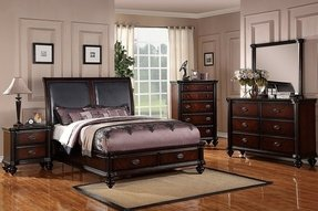 Chocolate Brown Bedroom Furniture For Master