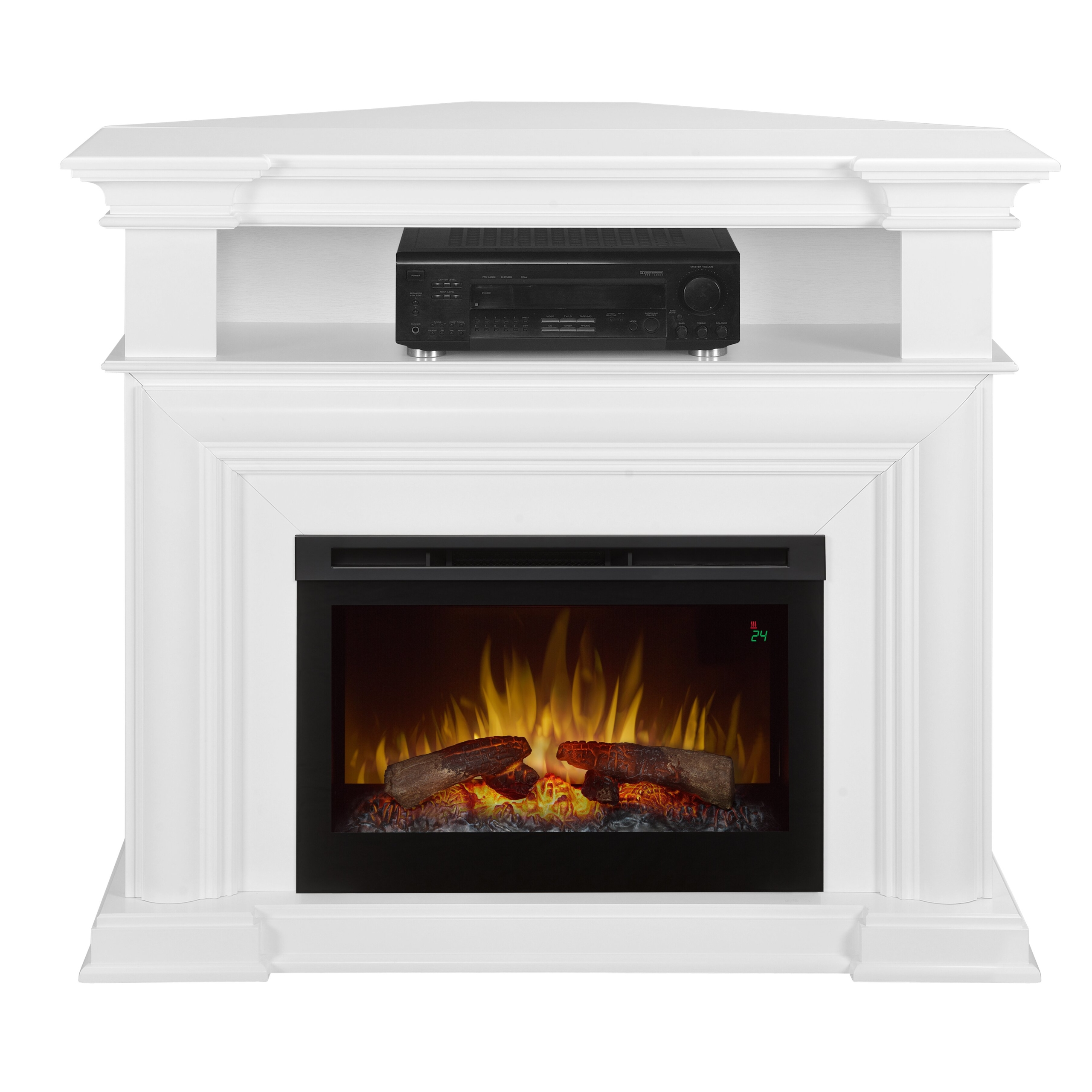 Colleen Media Console Electric Fireplace
