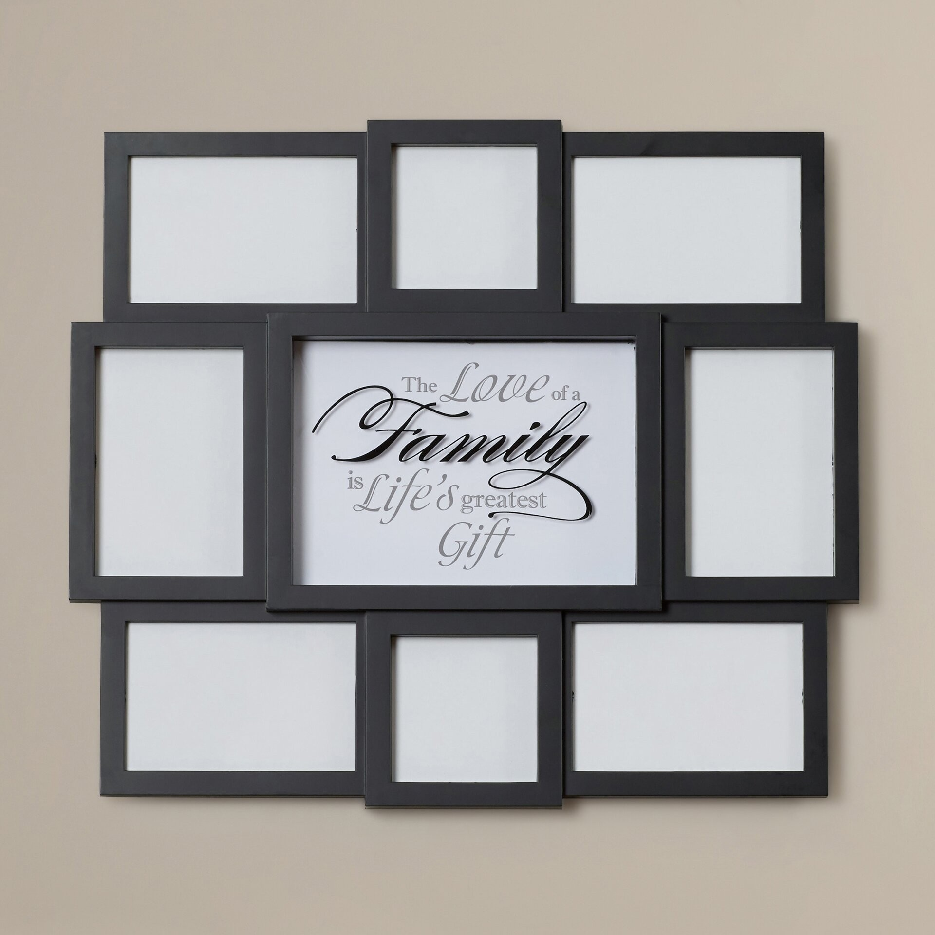 Etonnant Wall Hanging Collage Picture Frames   Ideas On Foter