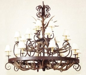 For additional rustic chandeliers visit our iron catalog too 1