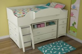 Loft Bed With Storage Foter
