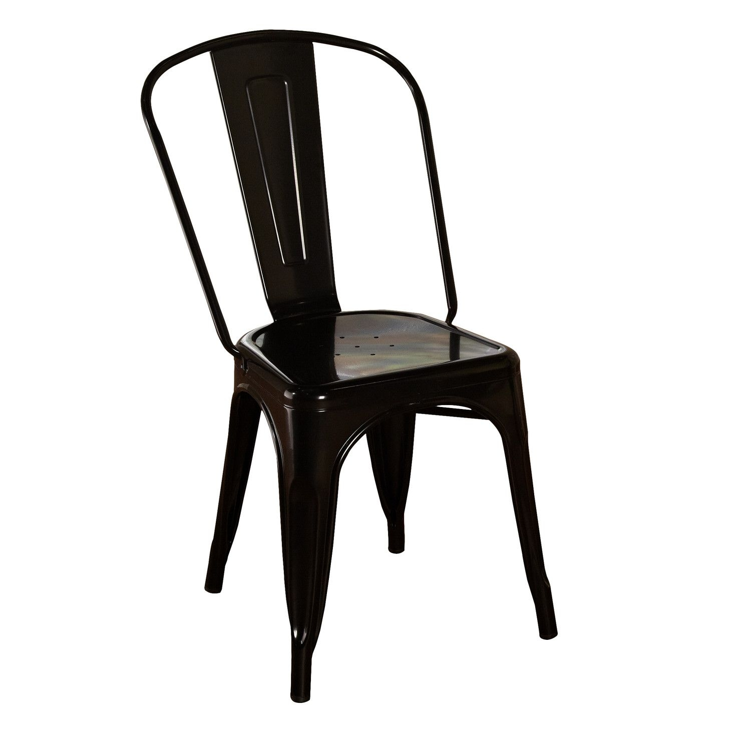 Attirant Kunkle Stackable Side Chair (Set Of 2)
