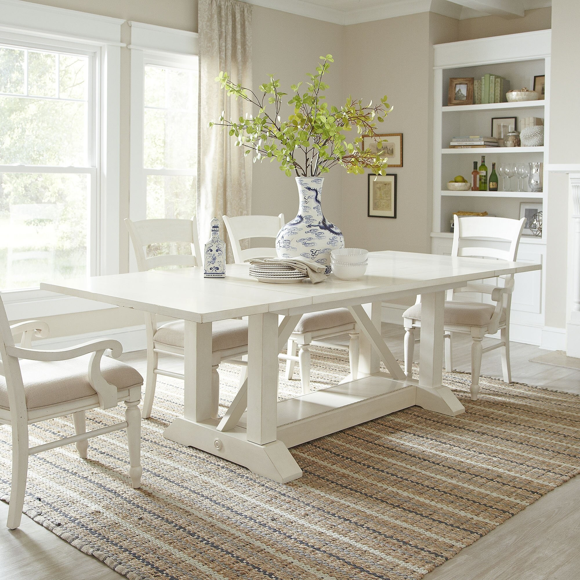 White Distressed Dining Table Ideas On Foter