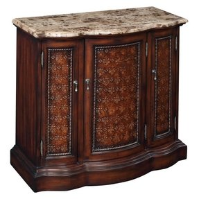 Marble Top Console Chest