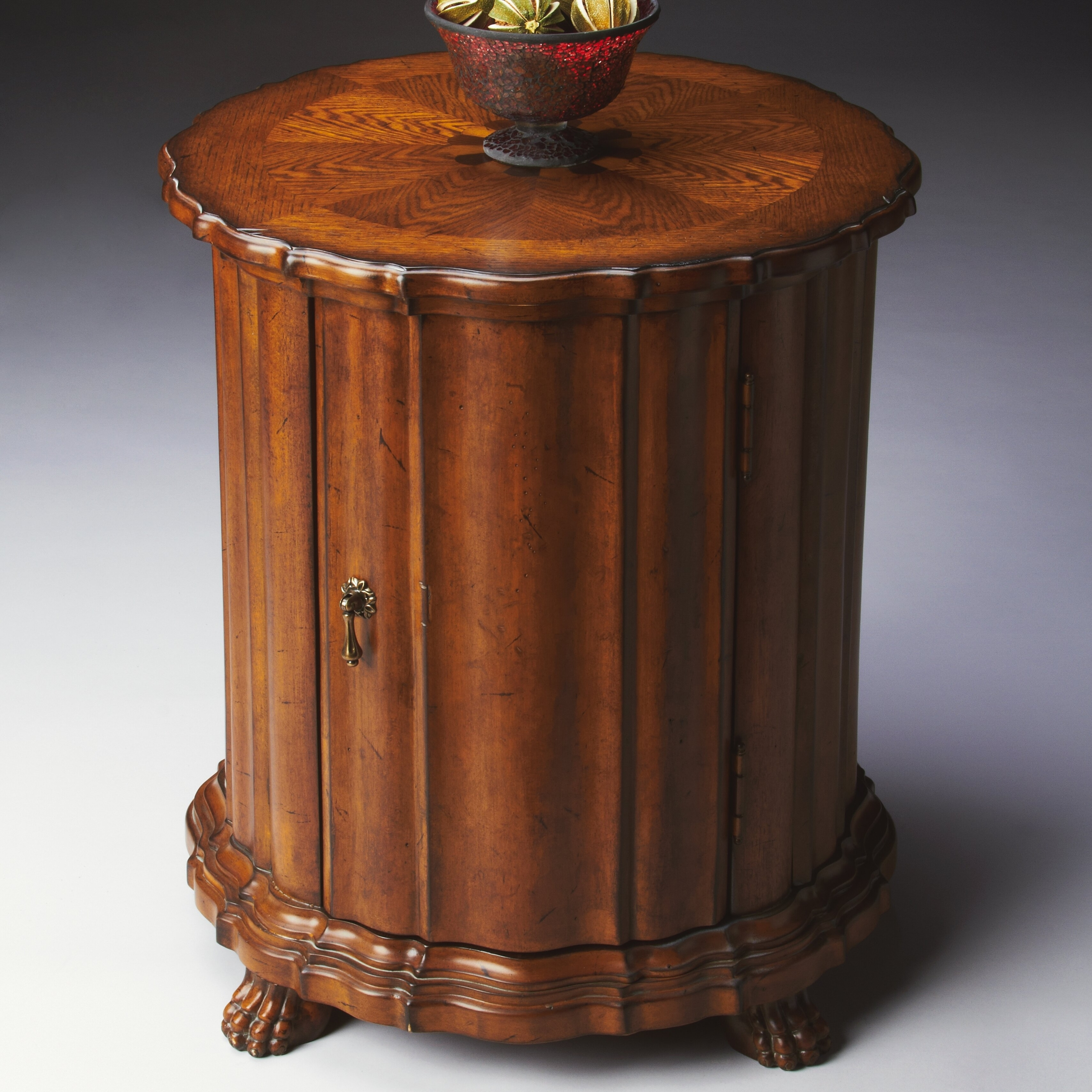 Masterpiece Drum End Table