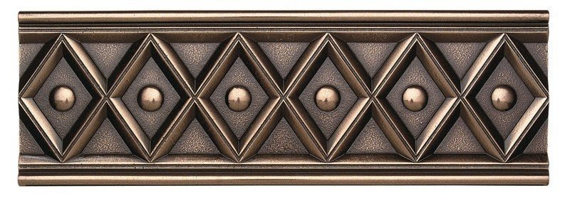 "Metal Ages 12"" x 4"" Corbel Glazed Decorative Accent in Polished Bronze"