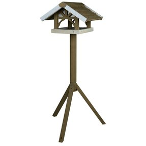 Nantucket Wooden Bird Feeder