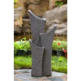 Polyresin and Fiberglass Sandstone Water Fountain