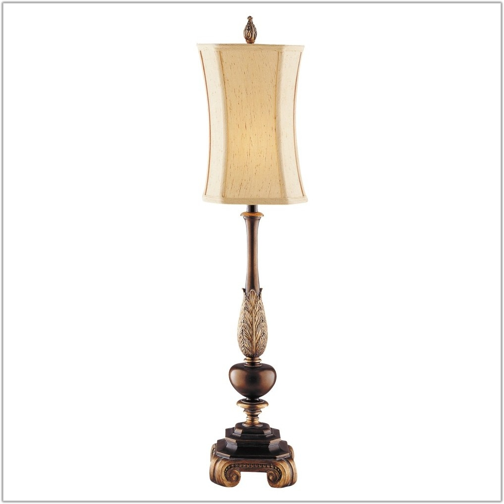 "Queen 35.5"" H Table Lamp with Oval Shade"