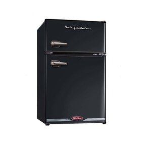 Retro Series 3.1 cu. ft. Freestanding Compact Refrigerator with Freezer