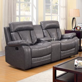 Fabulous Reclining Loveseats With Cup Holders Ideas On Foter Short Links Chair Design For Home Short Linksinfo