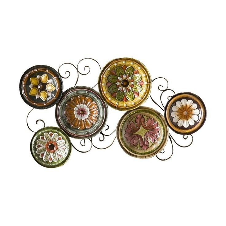 Great Scattered Italian Plates Wall Décor