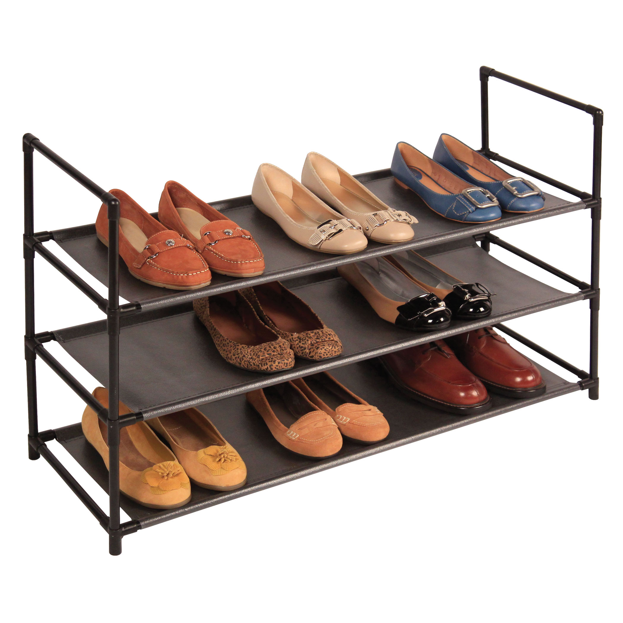 Stackable Standing Shoe Rack