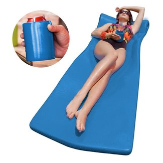 Super Soft Kool Pool Float and Kool Kan