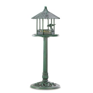 Verdant Pavilion Gazebo Bird Feeder