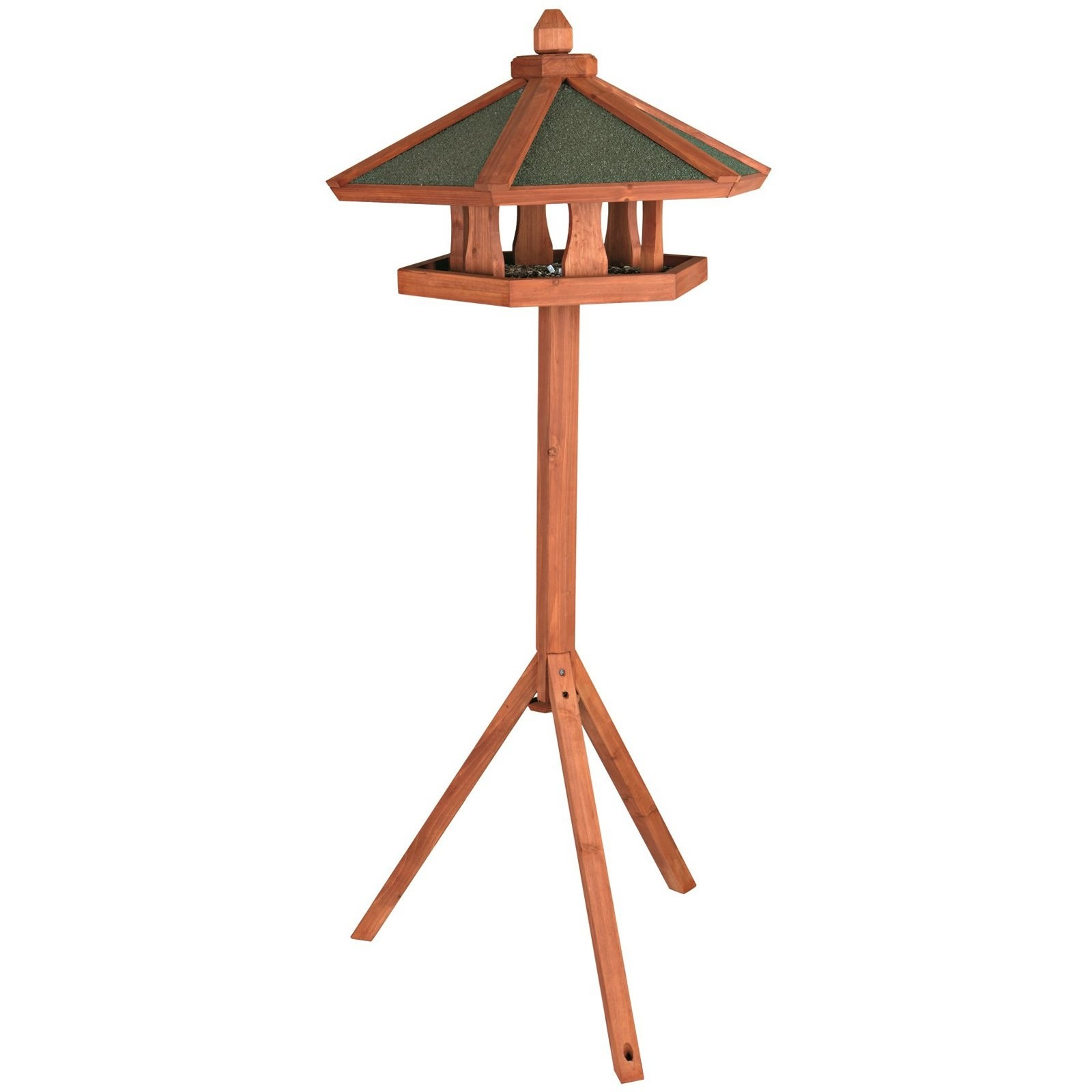 Wooden Gazebo Bird Feeder