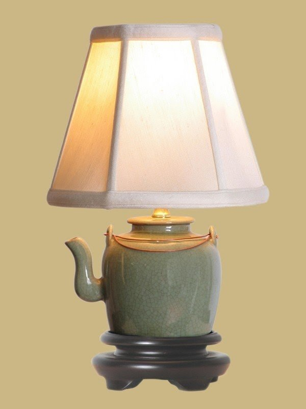 "14"" Tea Pot Lamp"