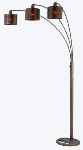 Arc Bronze Floor Lamp - Foter