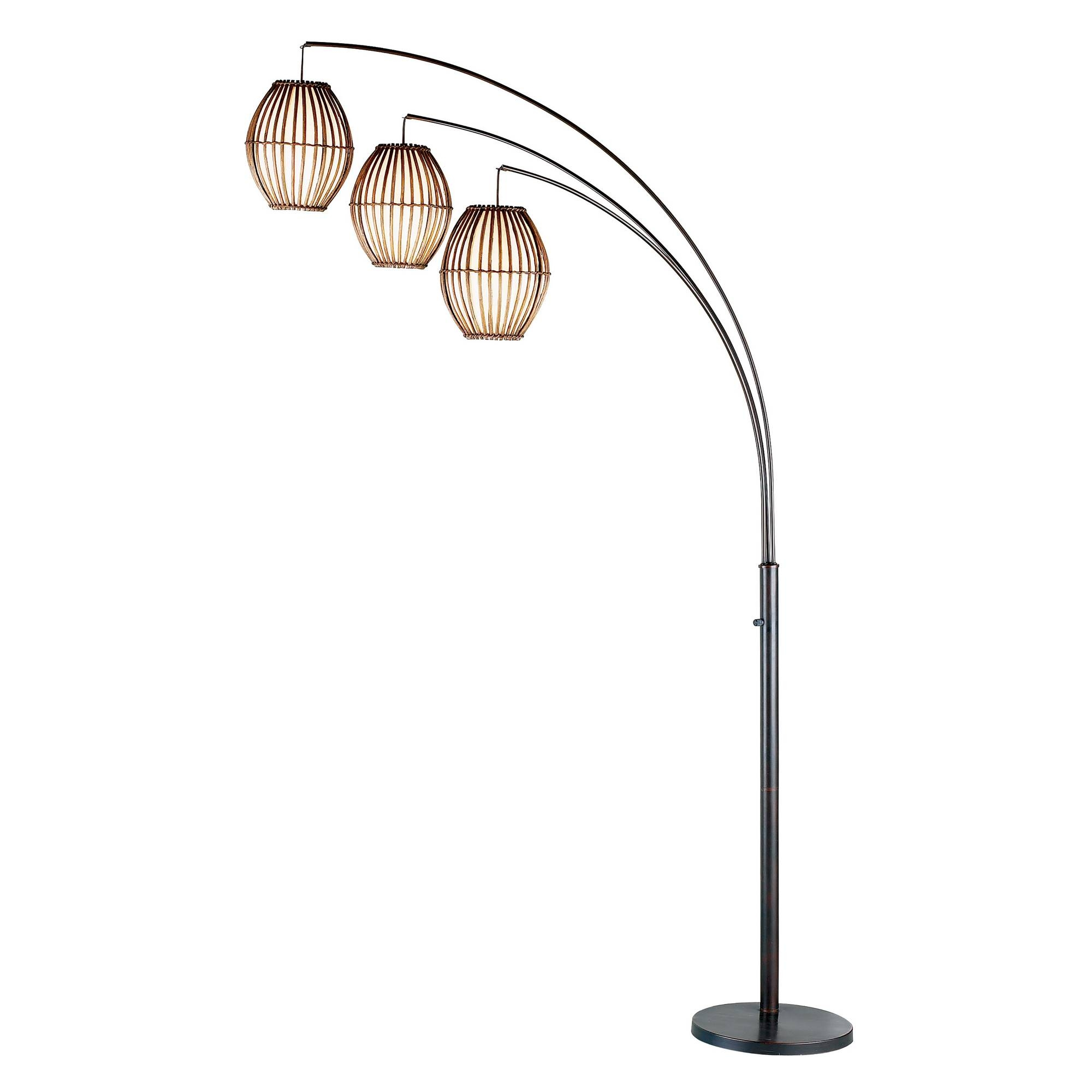 Adesso Maui Arched Floor Lamp