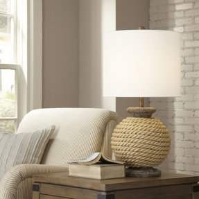Argentia Rope Table Lamp
