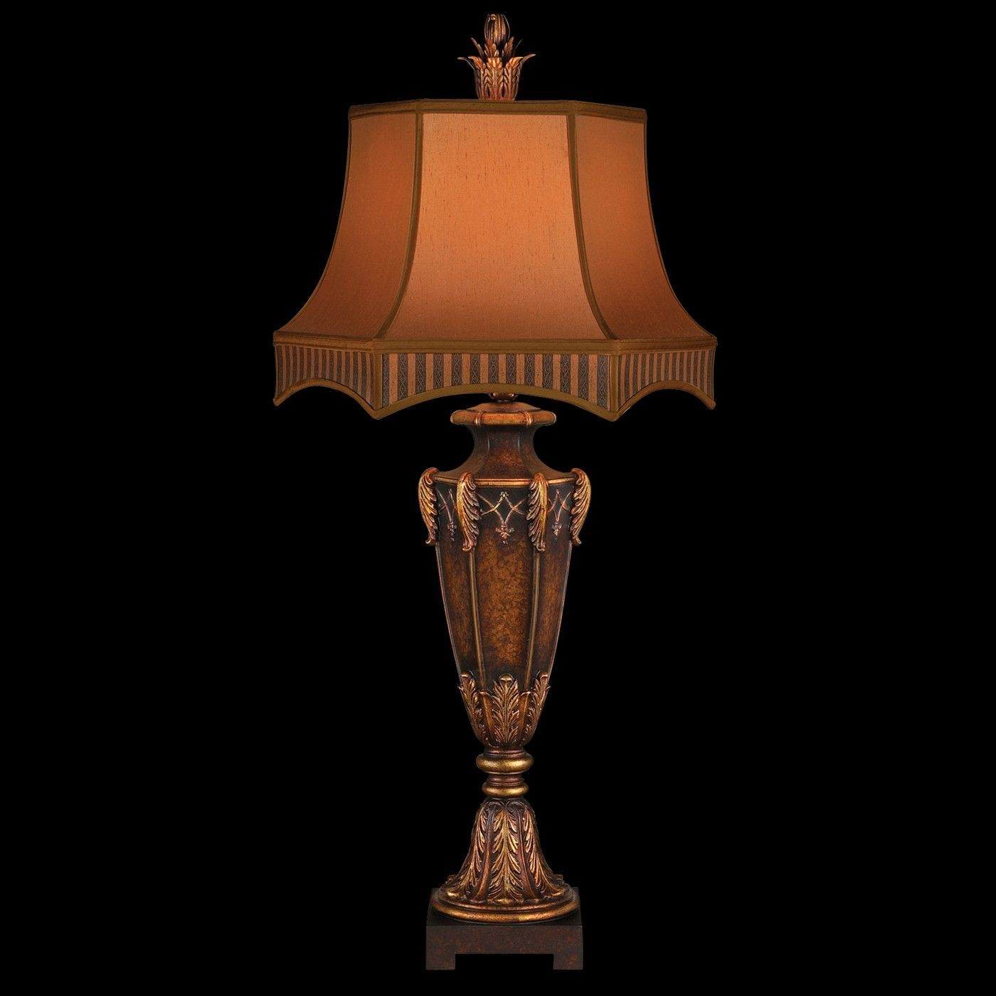 "Brighton Pavillion 40"" H Table Lamp with Bell Shade"