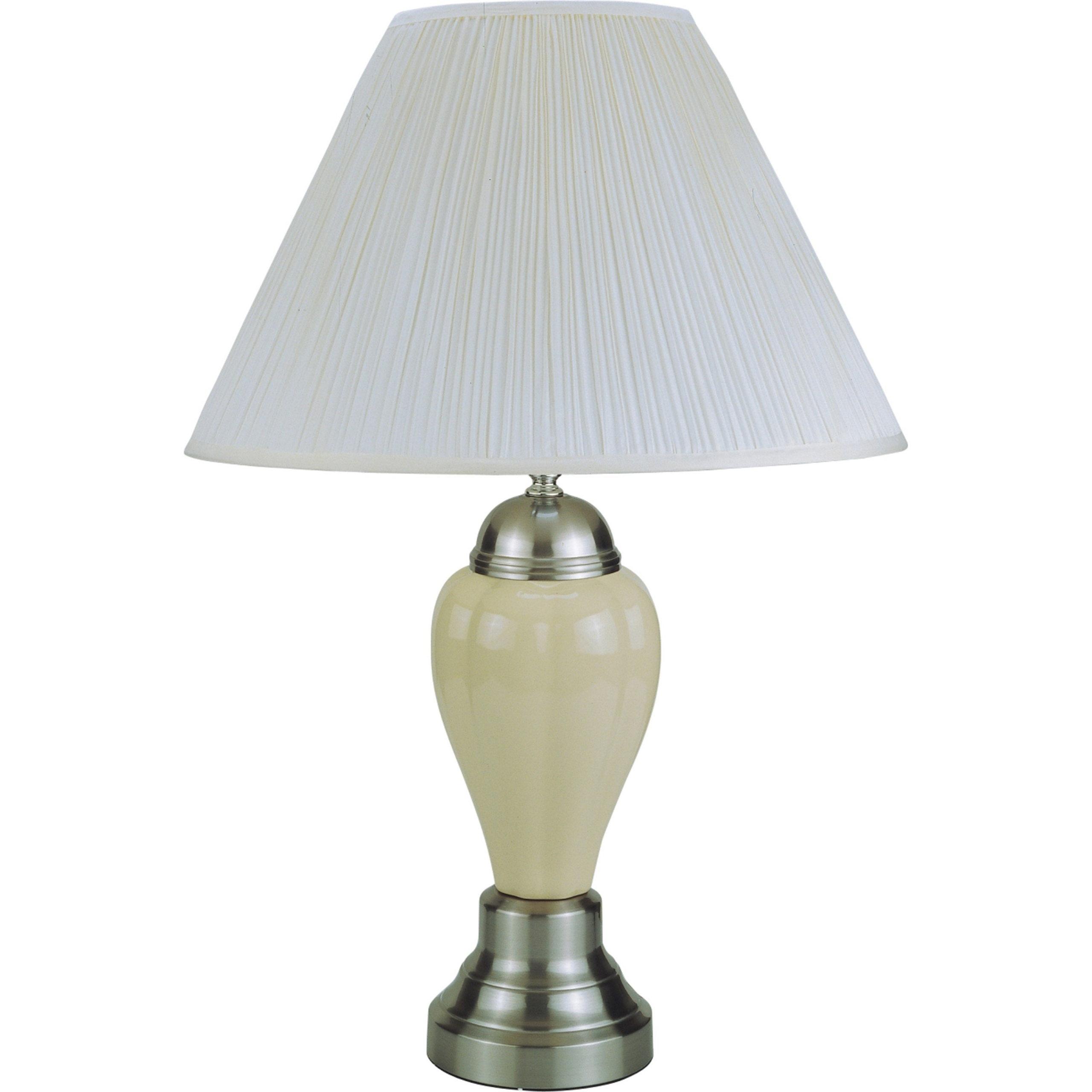 "Ceramic 27"" H Table Lamp with Empire Shade"