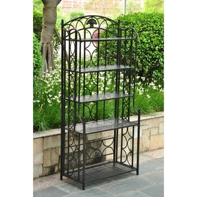 Charleston 5 Tier Indoor/Outdoor Bakers Rack