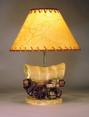 Wagon Wheel Lamp Foter