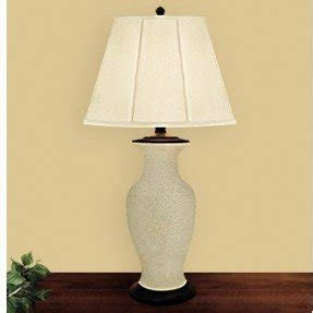 Crackle Glass Table Lamp Foter