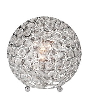 "Crystal Ball 8"" H Table Lamp with Sphere Shade"