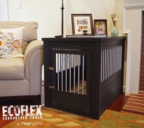 cool end table dog crate furniture | Designer Dog Crates Furniture - Foter
