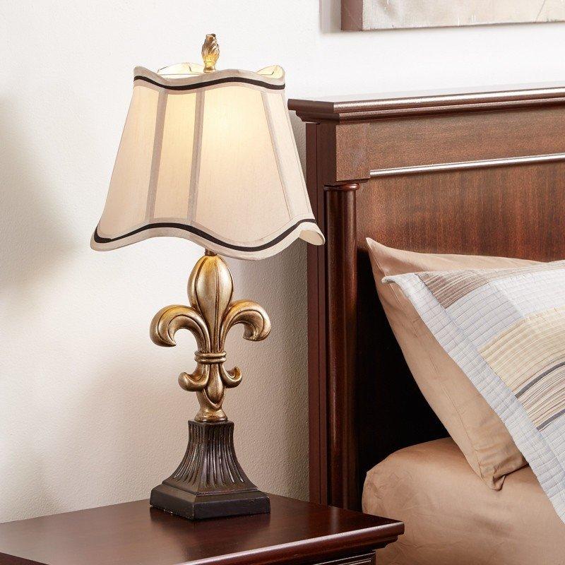 Fleur De Lis Table Lamp