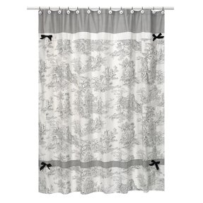 Toile Shower Curtain - Foter