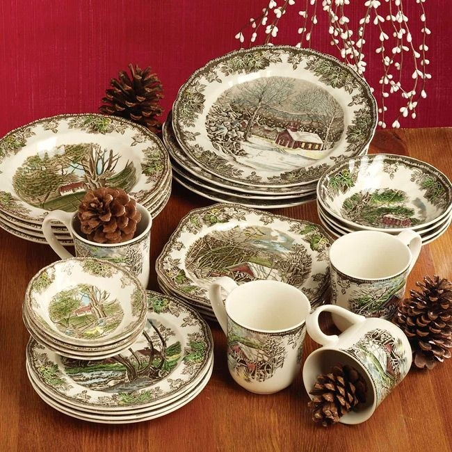 Friendly Village Dinnerware Collection & Friendly Village Dinnerware - Foter