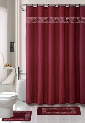 Greek Key Shower Curtain Foter