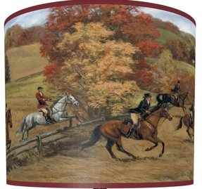 Horse Drum Lamp Shade