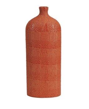 Orange Floor Vase Foter