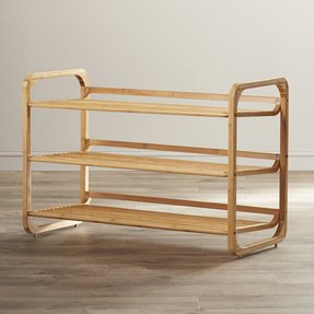 Juliana 3 Tier Bamboo Shoe Rack