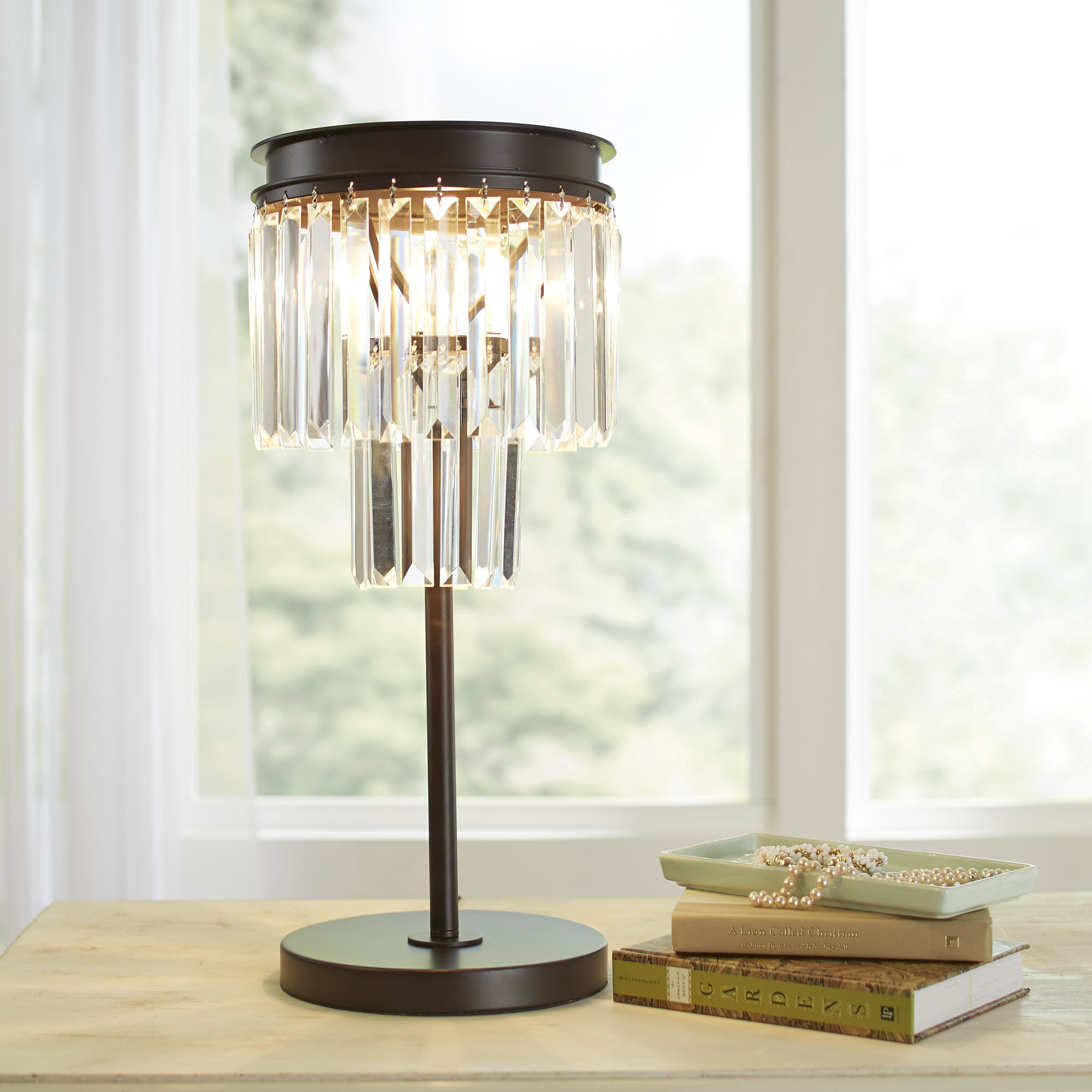Lorna Crystal Table Lamp