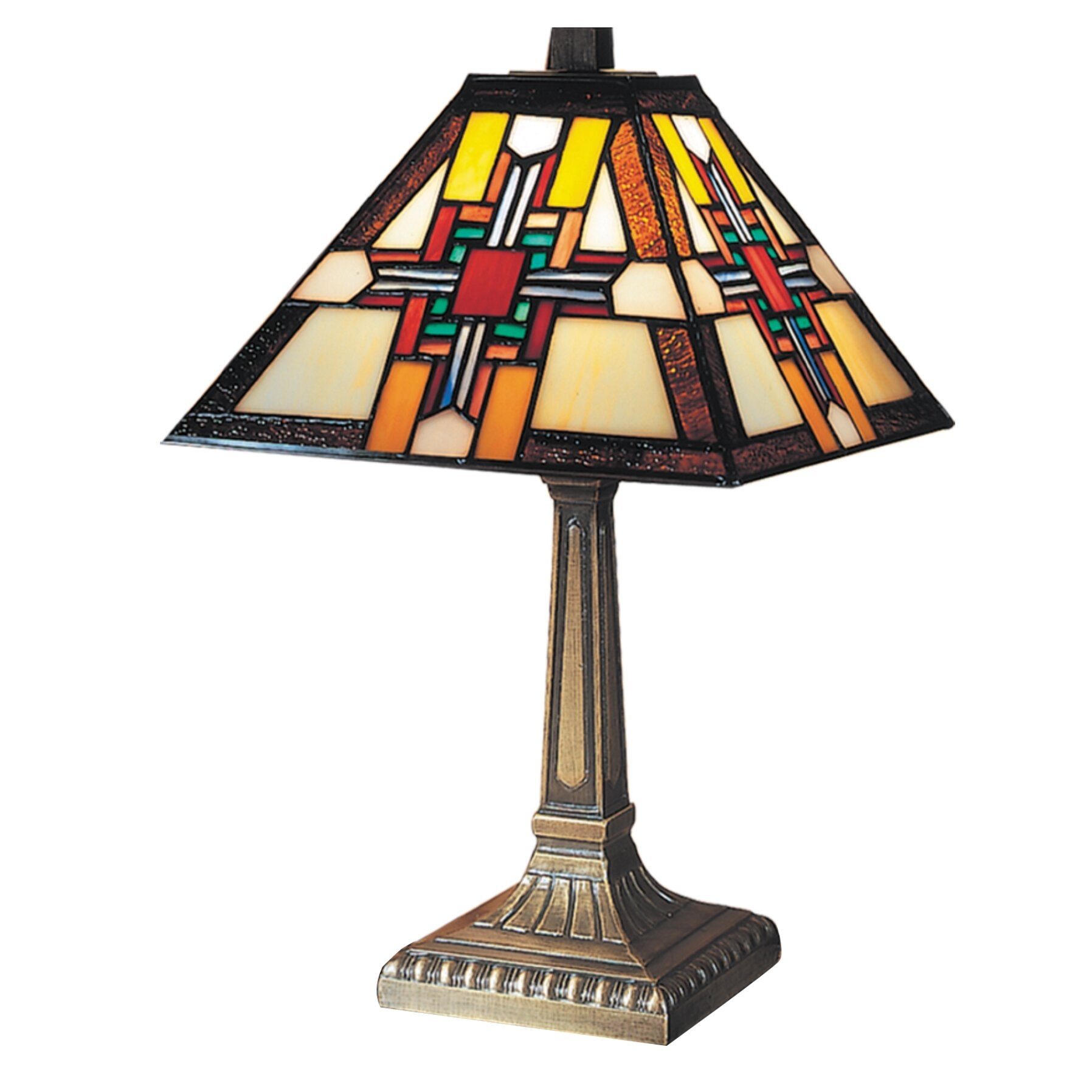 "Morning Star 15"" H Table Lamp with Empire Shade"