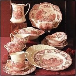 Old Britain Castles Pink Dinnerware Collection & Johnson Brothers Old Britain Castles Pink - Foter