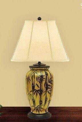 Palm Tropical Floor Lamp Foter