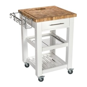 Kitchen Carts On Wheels With Microwave