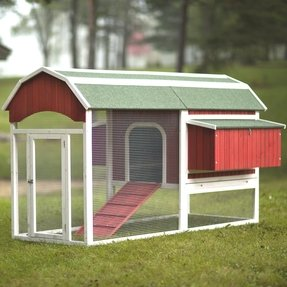 Red Barn Large Chicken Coop