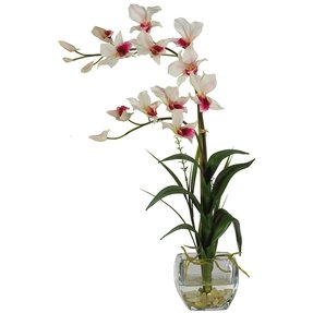 Artificial Flowers In Vase Foter