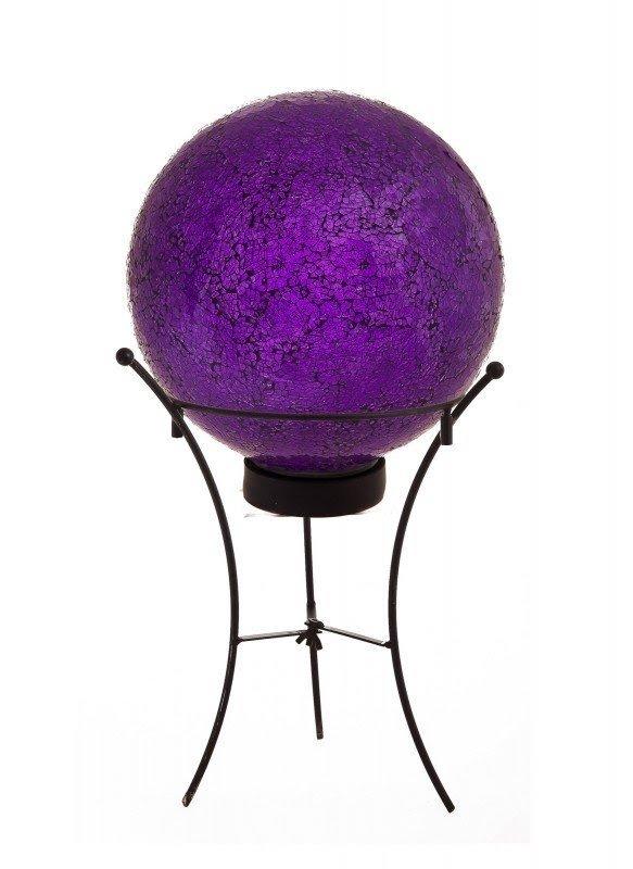 Solar Gazing Globe With Stand