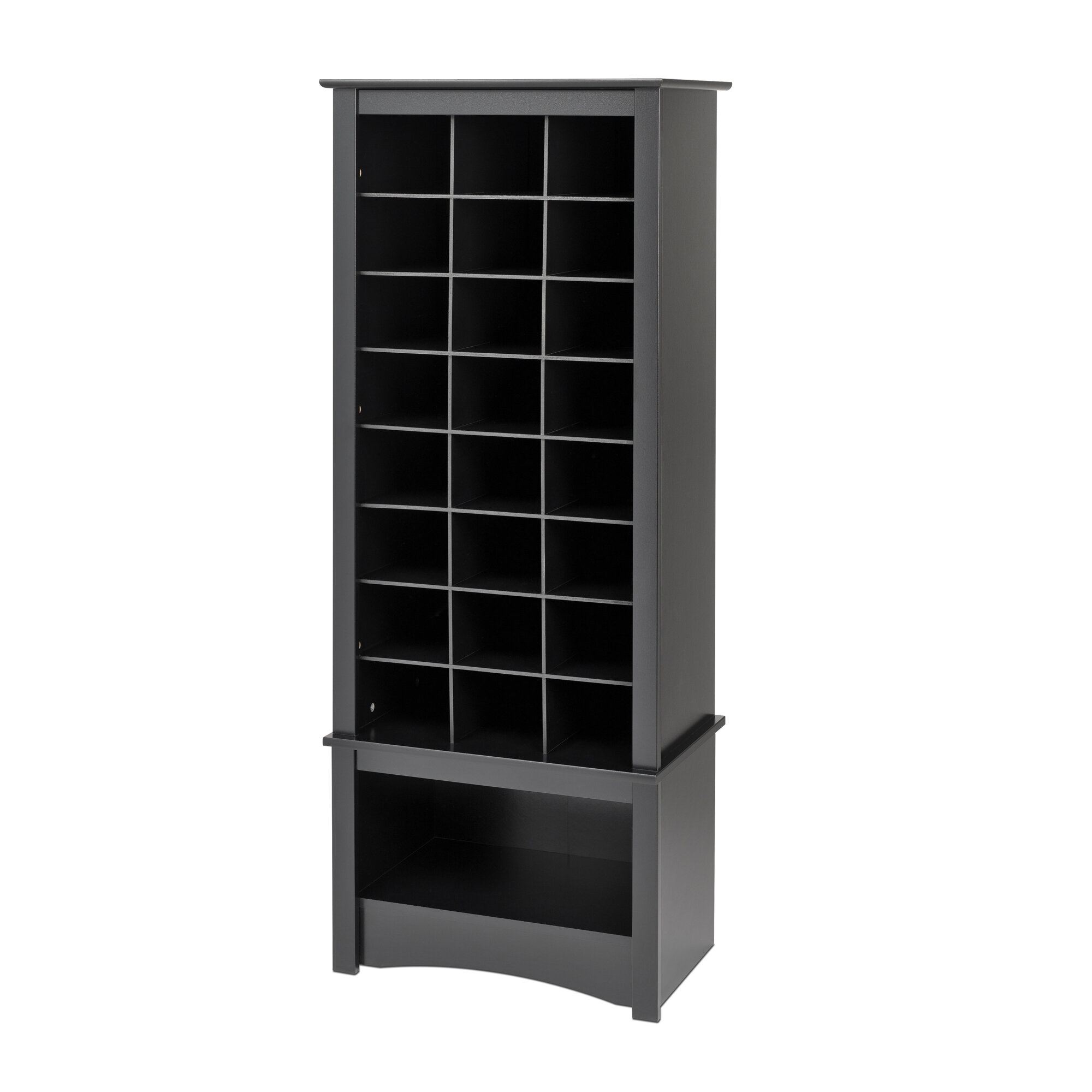 Superbe Tall Shoe Cubbie Cabinet